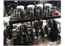 Dismantled-Engine-Parts