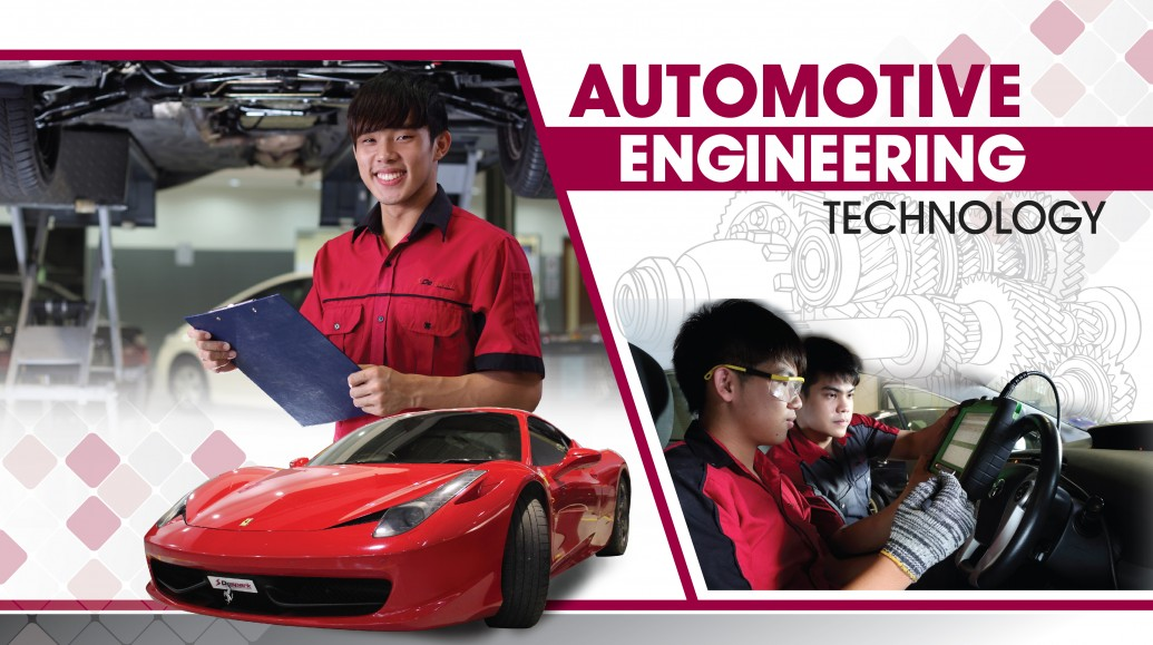 Automotive Engineering subjects to transfer from a college to a university for international student