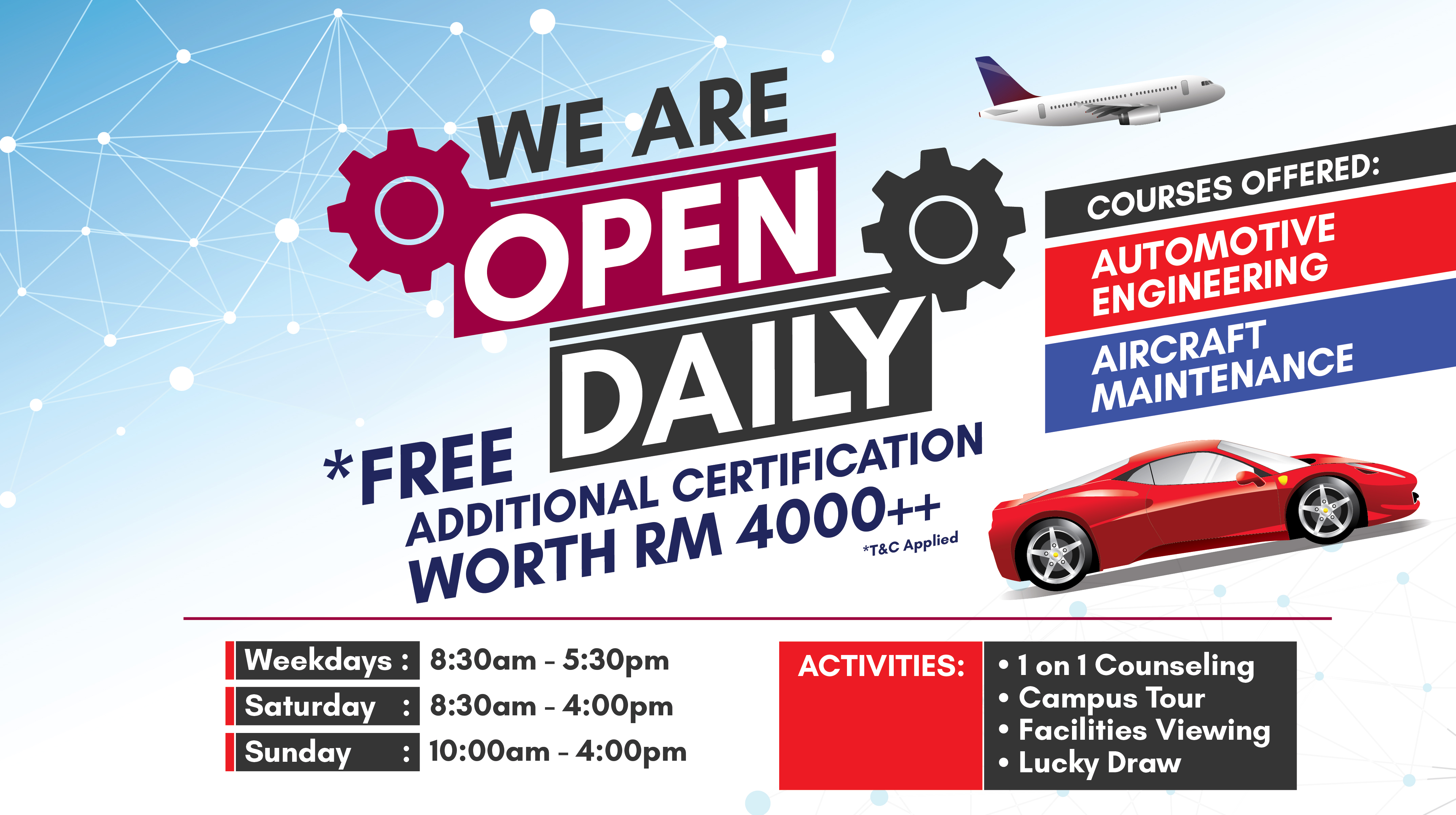 March Open Day - Webslider Image B-02