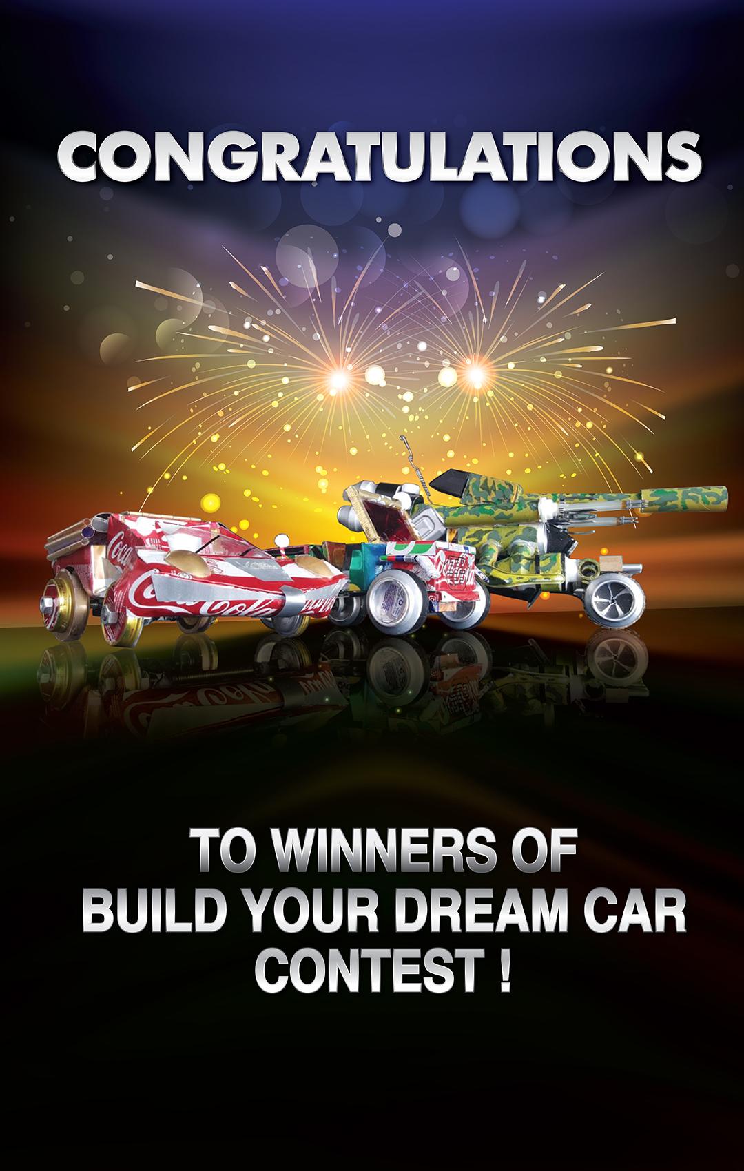 Dream Car Winner - Mobile Slide