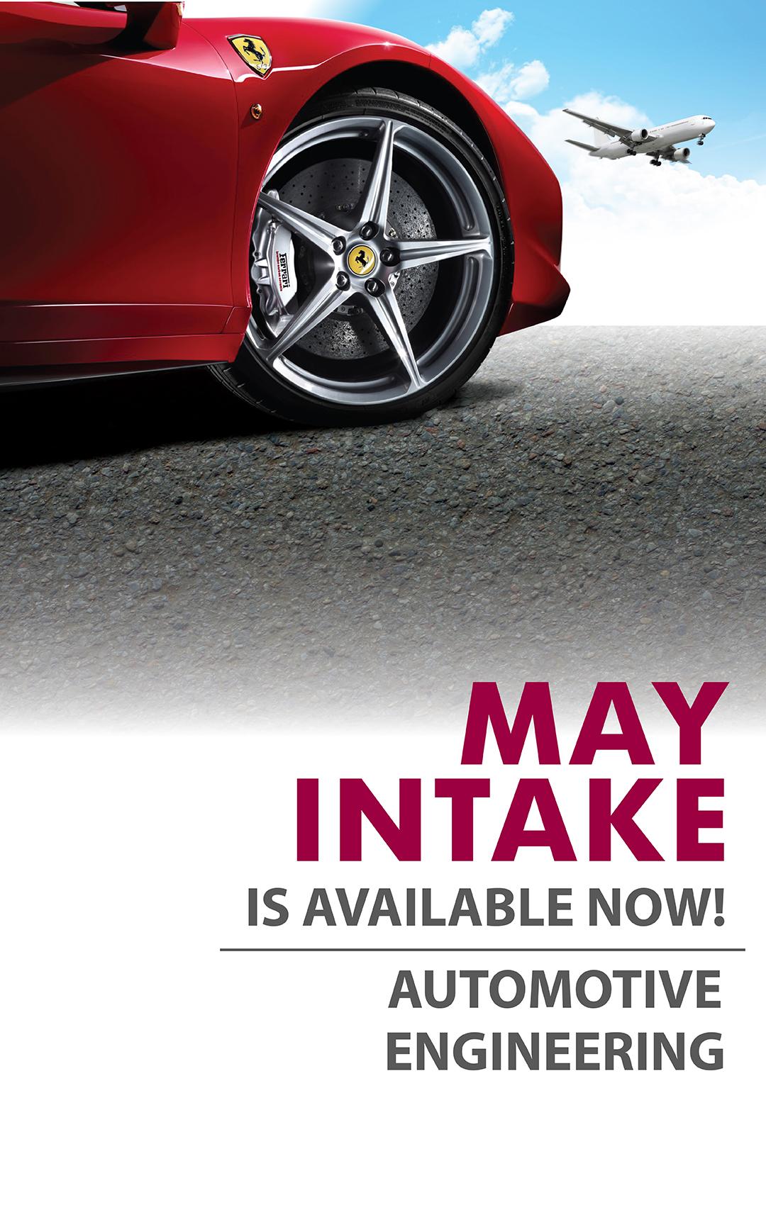May Intake - Mobile Slide